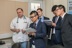 Cooperation with Japanese medical companies discussed at Medincenter